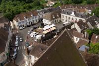 Place Aristide Briand vue en hauteur